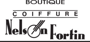 Nelson fortin coiffure logo